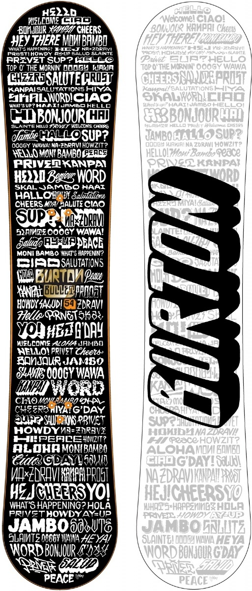 Burton Bullet - Mike Giant