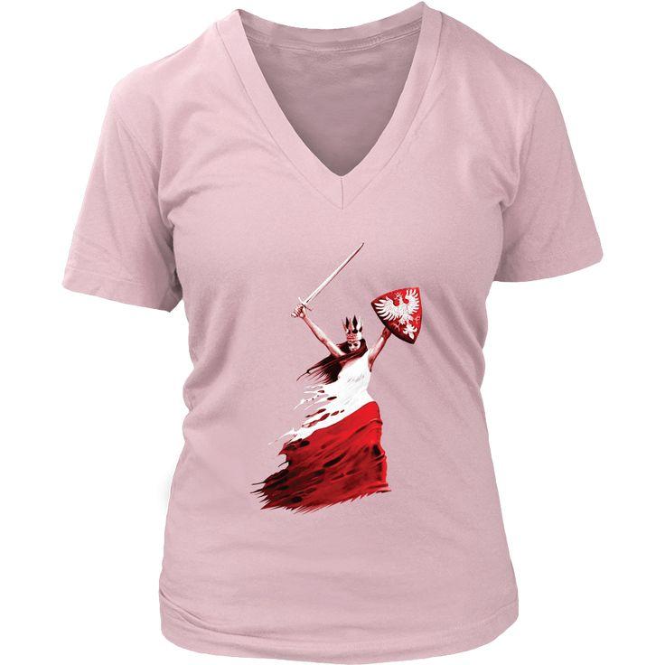 Polish Woman Warrior Shirt