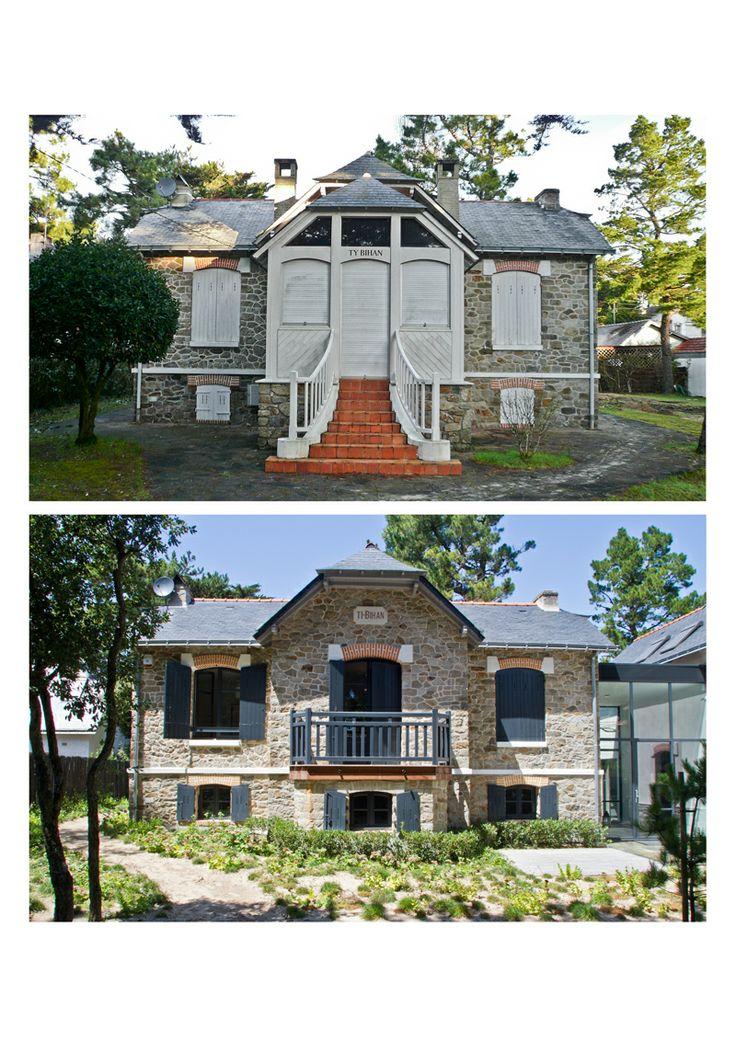 maison rnove dans la baule avantapres renovation - Photo Maison Renovee Avant Apres