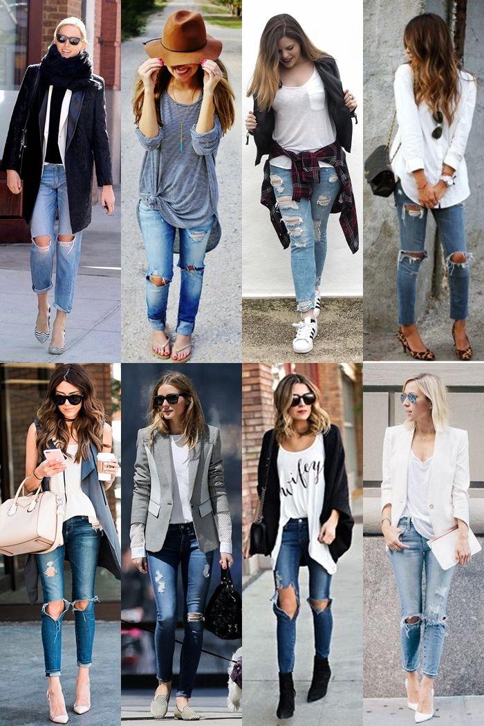 A diferença que uma calça rasgada faz | Sutileza Feminina