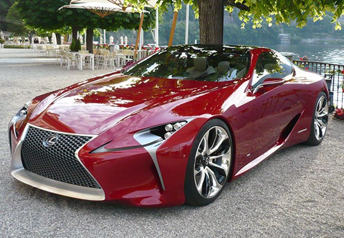 The Lexus LF-LC has hit the road. See it in action, here.