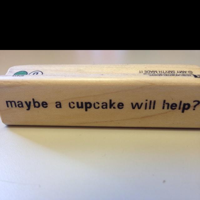 It sure would help me!Cupcakes, Helpful Me
