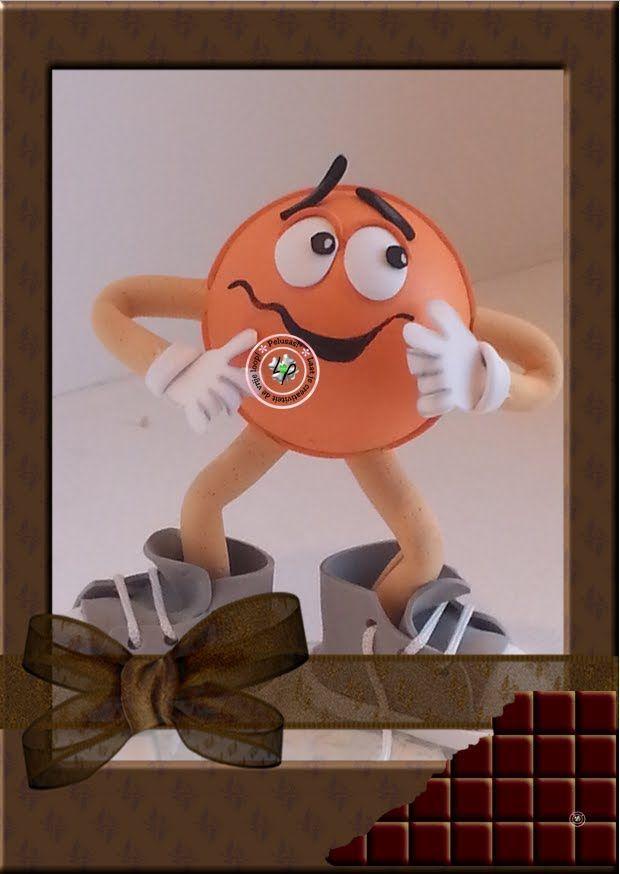 Fofucha Pelusas! Choco Naranja