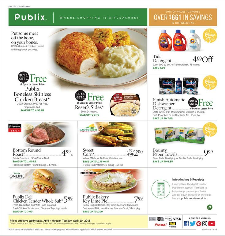 Publix Weekly ad March 4 March 10, 2020 Publix weekly
