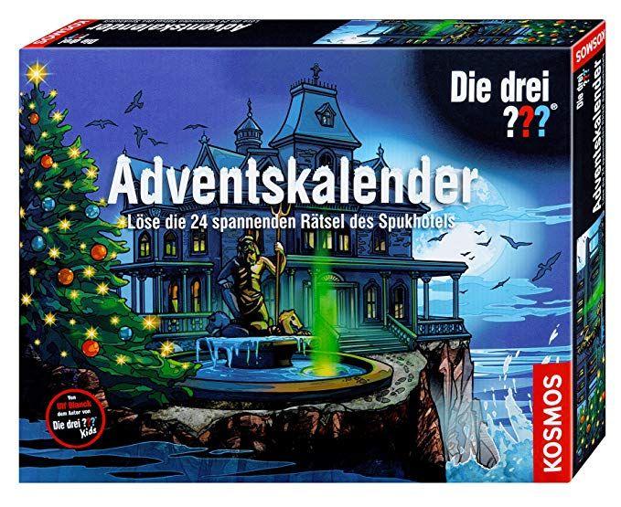 Affiliatelink Die Drei Fragezeichen Im Spannenden Adventskalender Format Fur Kinder Span Adventkalender Adventskalender Kinder Adventskalender