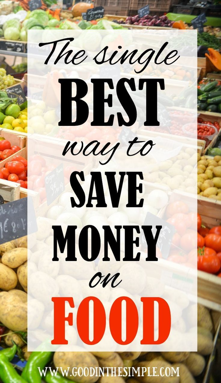 I've tried couponing, sale monitoring, stockpiling, and all sorts of other tactics, but this is by far the best and EASIEST way to save money on food.