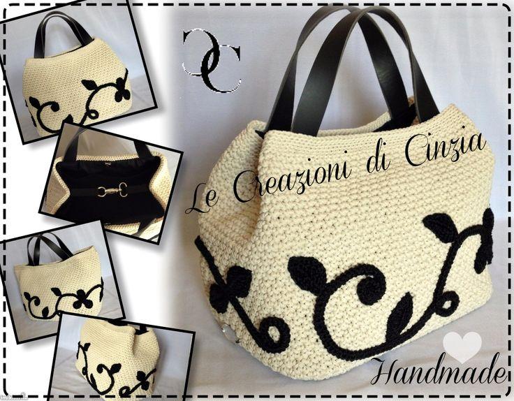 ...le mie CREAZIONI: Jacqueline....the Lady Bag