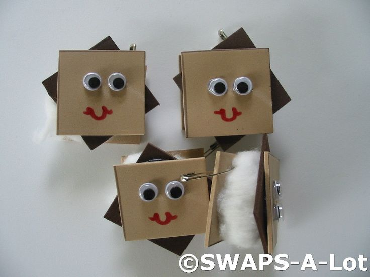 S'mores girl scout SWAPS