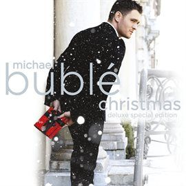 """Enjoy the Christmas album by multi Grammy Award winning Canadian singer Michael Bublé on hoopla.  The album includes guest performances by Shania Twain on """"White Christmas"""" and The Puppini Sisters on """"Jingle Bells.""""  Bublé also put his unique take on such classics as """"Silent Night,"""" """"Have Yourself a Merry Little Christmas,"""" """"It's Beginning to Look a Lot Like Christmas"""" and """"Santa Claus is Coming to Town."""" In addition, a Bublé original """"Cold December Night"""" is included."""