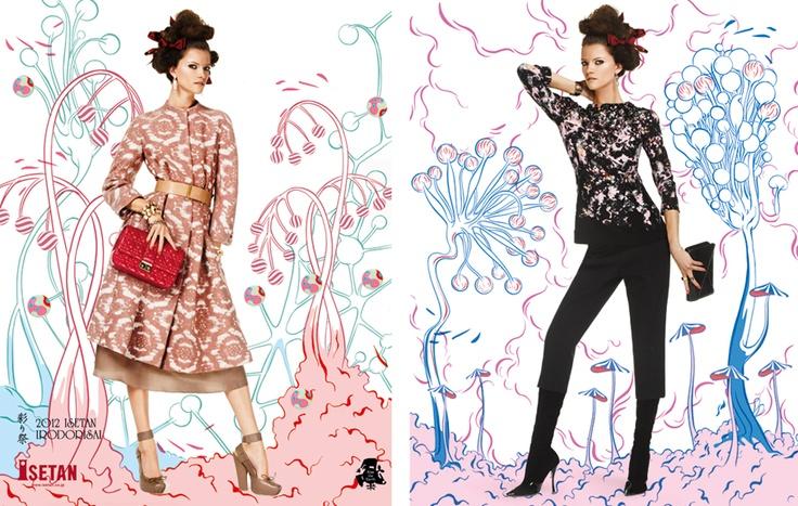 Vogue Nippon Isetan 2012