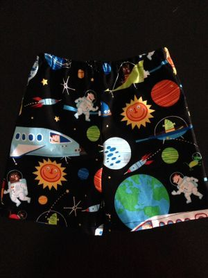 'Space Explorer' Baby Boy Shorts. $13.50 (FREE Shipping within Australia). Handmade Find us on Facebook; BoyCot Baby.