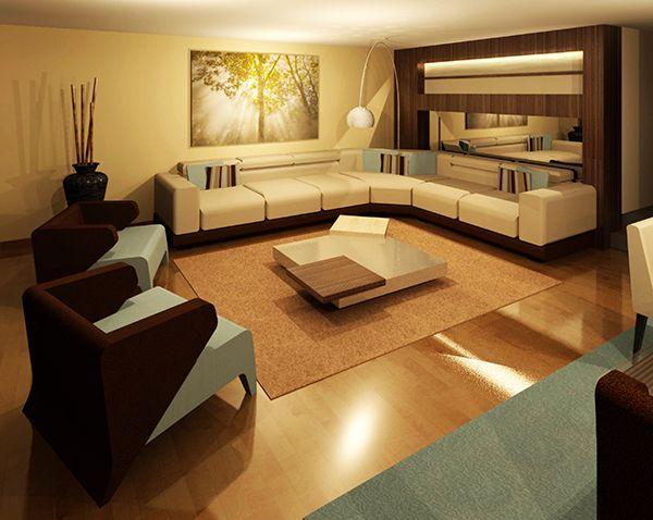 Diseño de sala en 3D,  Visítanos en el Centro Comercial el Polo 2 - Tienda B - 204 (2do piso)  Telef.(51-1) 4351721 Cel. 944474376