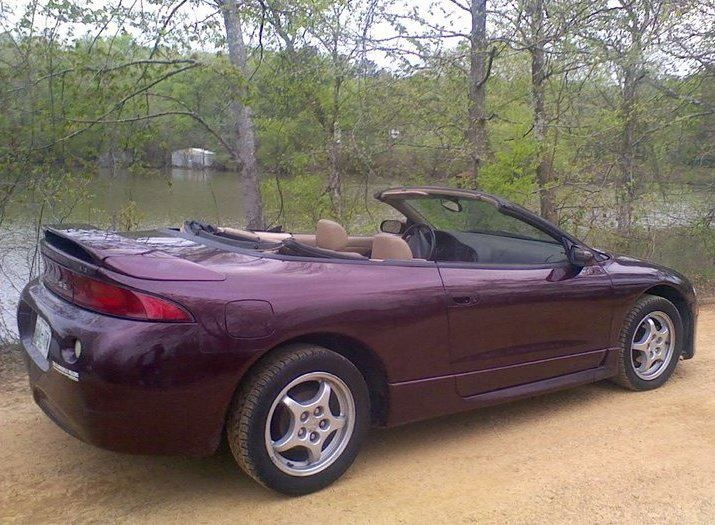 VCI Classifieds - $3,200.00, 1997 Mitsubishi Eclipse Spyder Convertible