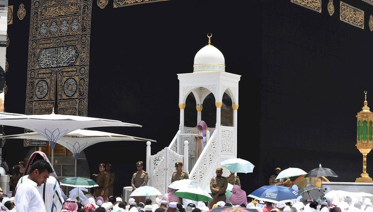 Amazing view of #HolyKabah during #Jummah #Prayer.....#MASHAALLAH #JummahMubarak #Makkah #Kaaba #Islam #Muslims #Quran #Salah #Umrah #Hajj