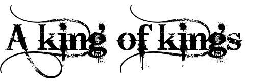 King Of Kings Tattoo Design   Tattoobite.com