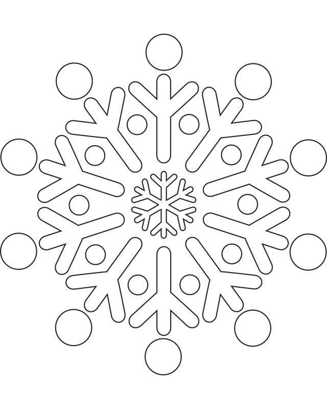 Printable Snowflake Templates To Create Beautiful Crafts Make Some Seasonal
