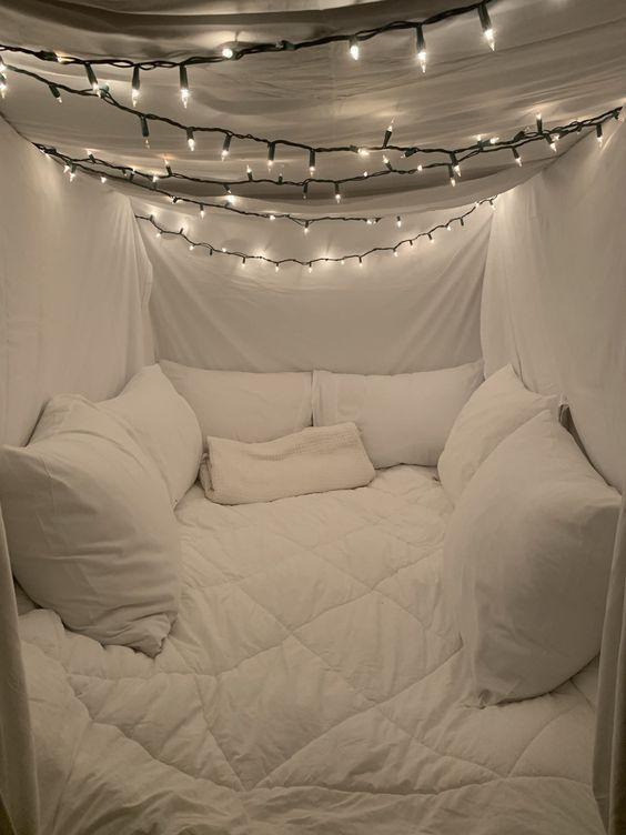 groß 35 Fantastische Led Lichterketten Dekor Mädchen Schlafzimmer