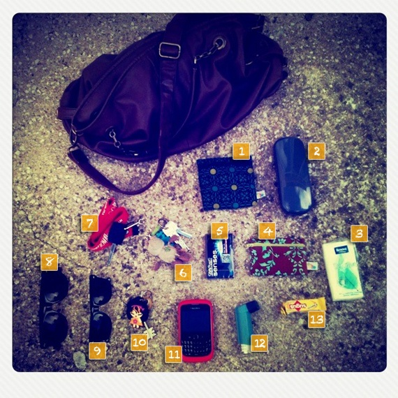 by Lipa... What's in my bag #2