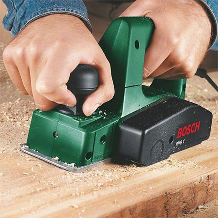 Using an electric planer allows you to shave, trim and easily remove excess wood for edges. You can use an electric planer for cutting doors...