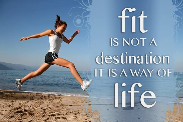 Fitness is a lifestyle!