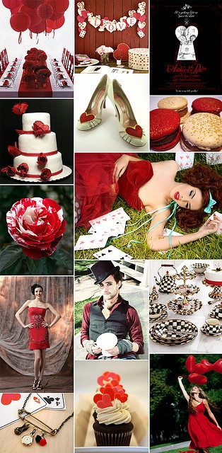 red queen theme
