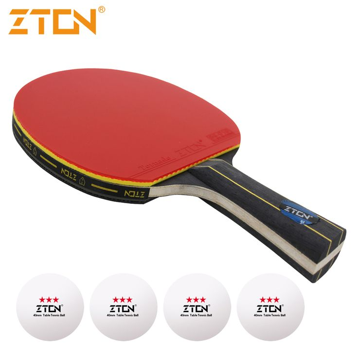 Marca de Qualidade raquete De tênis de Mesa Espinhas Ddouble-em borracha tênis de mesa de Ping Pong Raquete de tenis de mesa