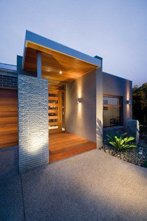 Grandview Contemporary Facade 2, New Home Designs - Metricon