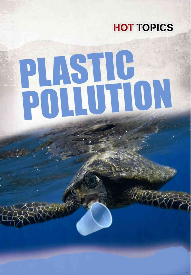 a book to help explain the plastic pollution and the dangers to children