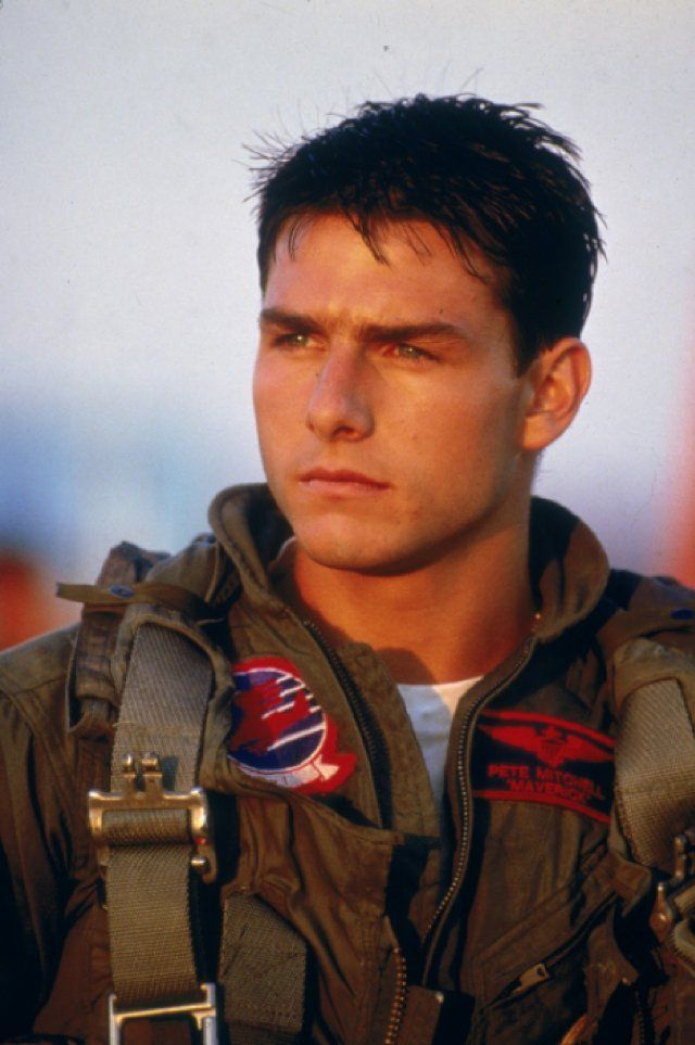 I know he's batshit crazy now, but Tom Cruise was definitely making panties drop back in the Top Gun days.
