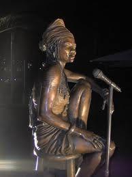 South African Pop Idol, the late Brenda Fassie