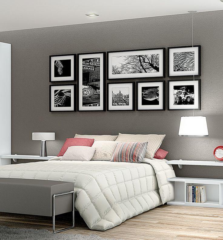 Veja nossa seleção com 50 fotos incríveis de quartos de casal na cor cinza. Inspire-se