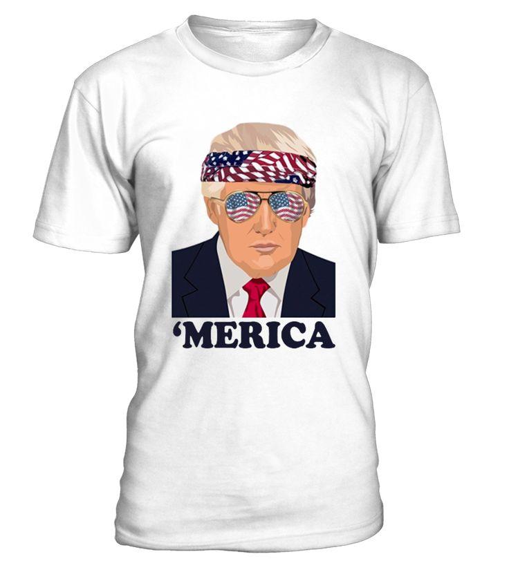 Funny Trump Patriotic 'Merica T-Shirts  Funny Veterans Day T-shirt, Best Veterans Day T-shirt
