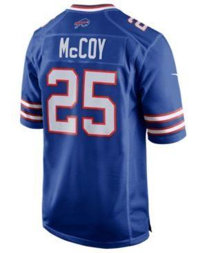 Nike Boys' LeSean McCoy Buffalo Bills Game Jersey  - Blue XL