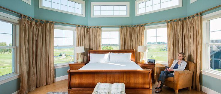 Enjoy relaxing ocean views at Fox Harb'r Resort.