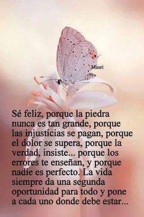 Aprovecha esta oportunidad! Sé feliz! #vida #felicidad #frases