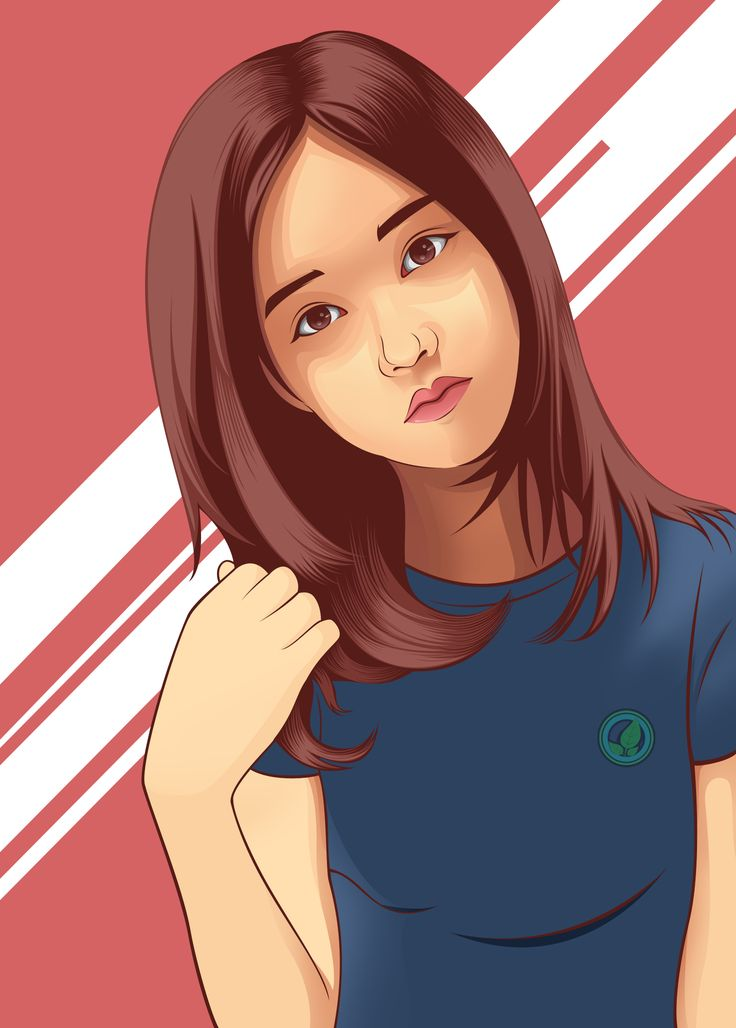 Li'll Cute Girl in Vexel