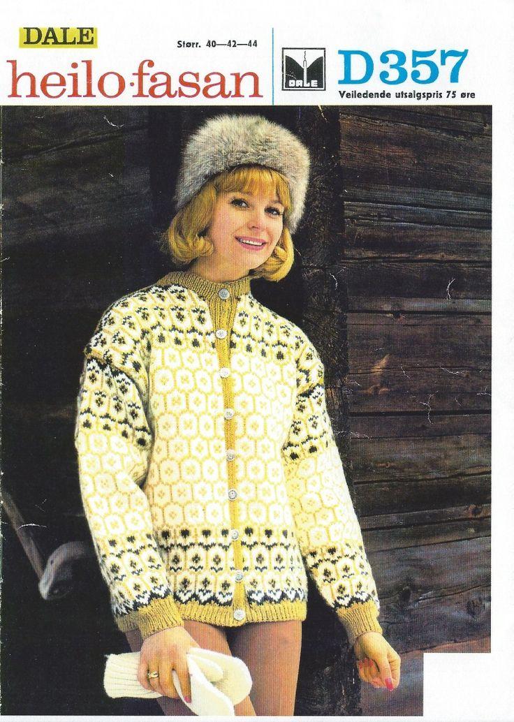 .Denne kofta har mamma strikket, og finnes fortsatt.