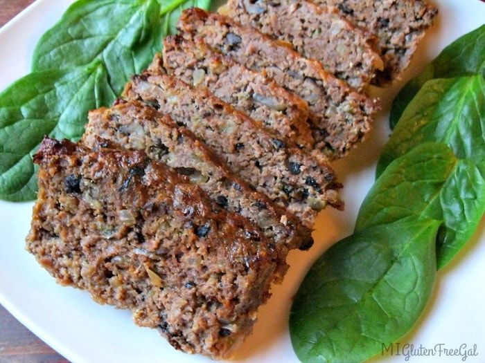 Making a gluten-free meatloaf is pretty simple. Mix your meat with eggs, spices and your favorite gluten-free binder. Breton crackers are a great choice!