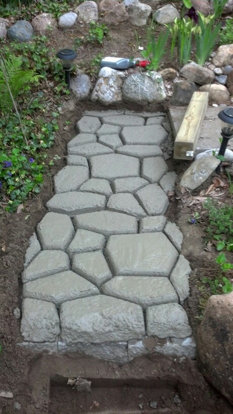 76 best Cobblestone Path ~ Stone Borders, Walls, Paths DIY images ...