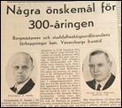 """Borgmästare Sandén sa redan för 70 år sedan att staden bör se upp i tid för träden i Plantaget. Efter 1944 blev det bara tätare """"skog"""", men nu kan vi glädjas åt nya öppna Plantaget."""