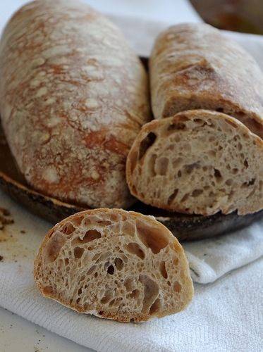 Попытка испечь Овернский хлеб, радостная, но неуверенная. Дело в том, что весов у меня под рукой не было, поэтому с точностью определить количество муки и воды и,…