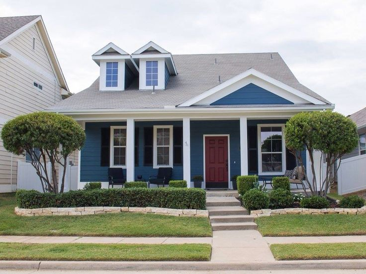 Our House In Providence Village Tx Repainted In Sherwin
