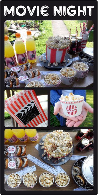 Host a kids movie night so parents can have a date. (I'd love this)