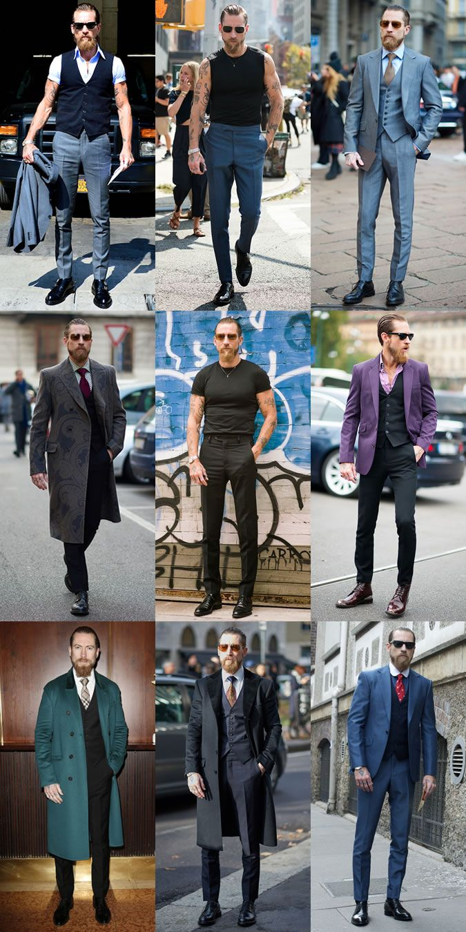 Justin O'Shea Personal Outfit Lookbook