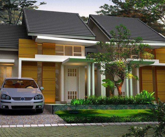Desain Rumah Minimalis Type 45 Modern 3