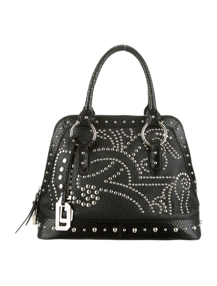 Dolce & Gabbana Studded Handle Bag