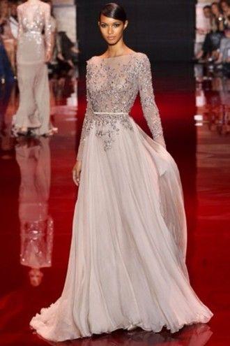 dress home accessory long sleeve dress long prom dress wedding dress sparkly…