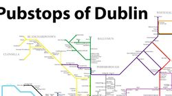 This New Metro-Style Map Will Show You Every Pub In Dublin