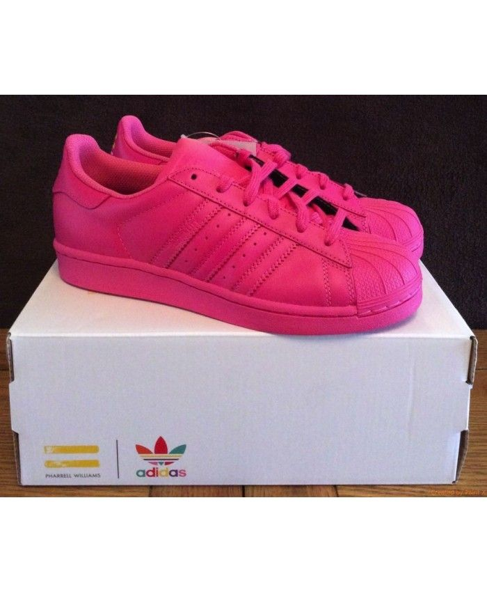 2791bff6c29954 New Arrival Adidas Superstar Womens Pink Cheap Sale T-1341