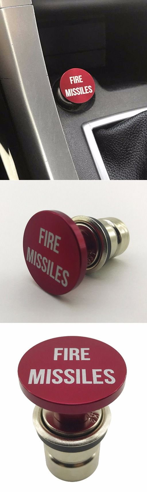 Fire Missiles Cigarette Lighter Button @thistookmymoney